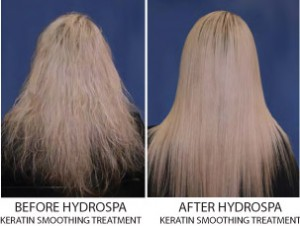 Keratin Smoothing Treatment - Before and After